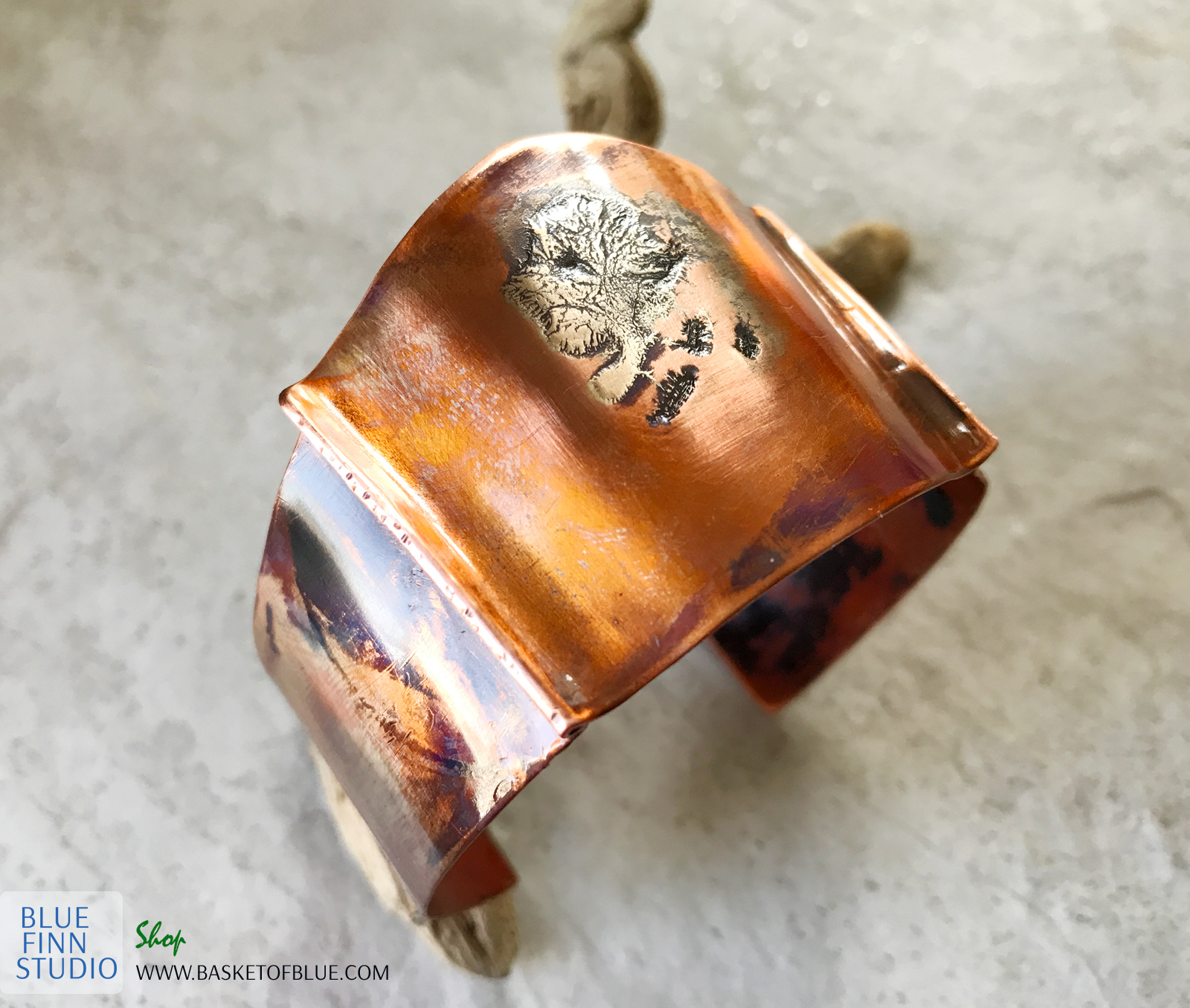mixed metal cuff
